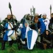 Vallconnischer Soldatensquad unter der Führung von Sir Louis Charles of Greenwood